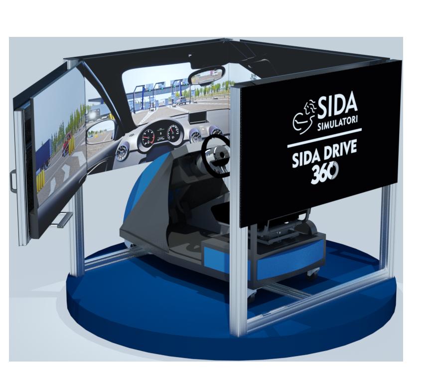 simulatore di guida SIDA DRIVE