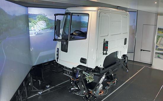 SIDA DRIVE - simulatore di guida - Simulatore di guida Trainer cabina 2