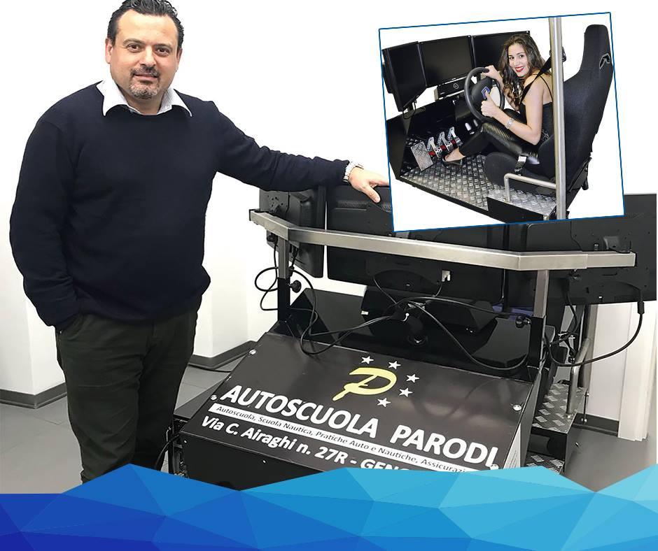 SIDA DRIVE - simulatore di guida - autoscuola Parodi