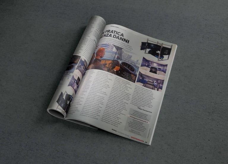 SIDA DRIVE - simulatore di guida - quattroruote magazine