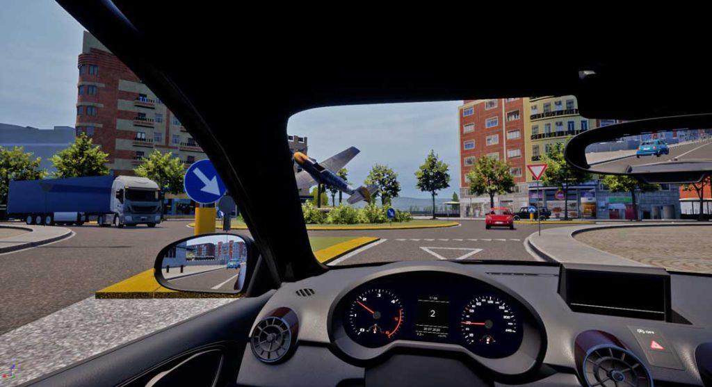 Realismo - simulatore di guida SIDA DRIVE