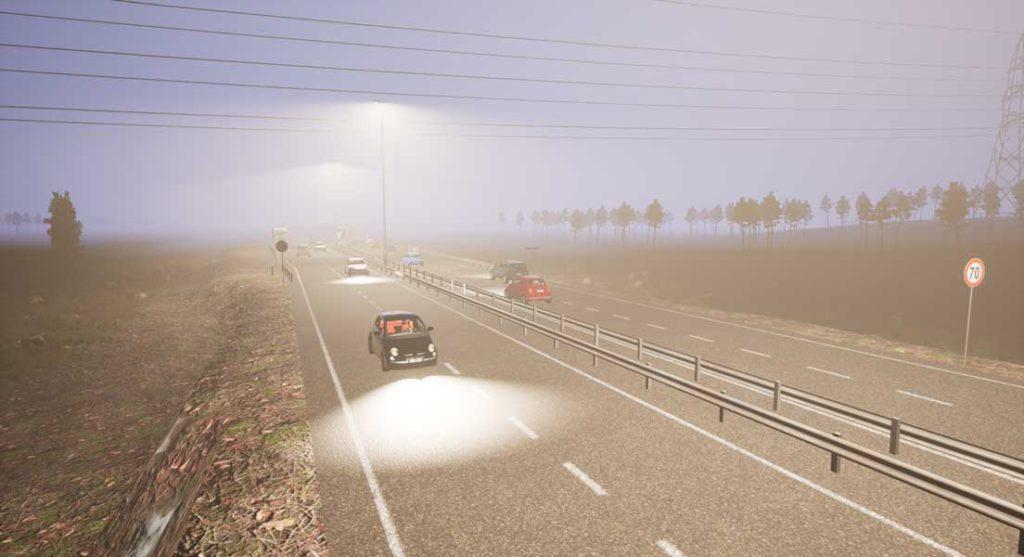 SIDA DRIVE - simulatore di guida - Simulatore di guida Ambientazione