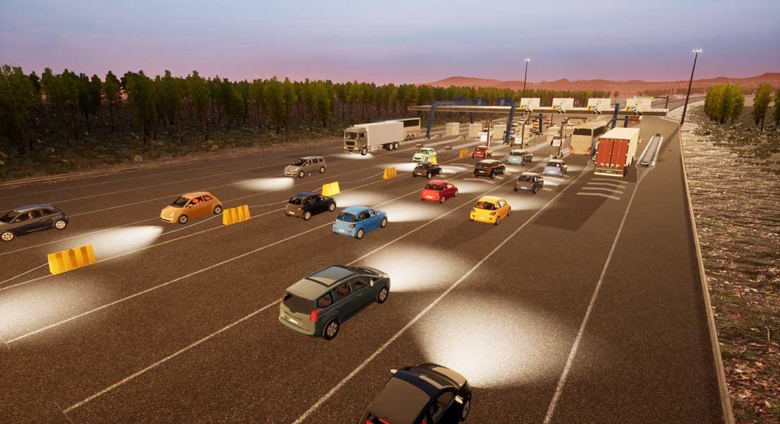 SIDA DRIVE - simulatore di guida - Simulatore di guida Traffico