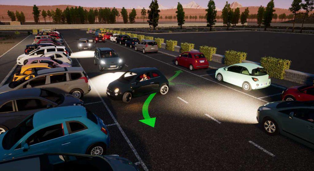 SIDA DRIVE - simulatore di guida - Simulatore di guida adattivo
