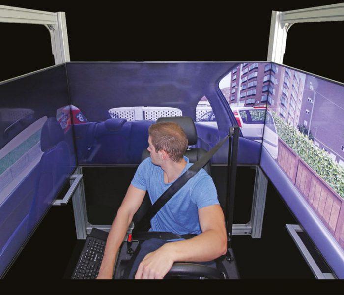 Vista Retromarcia - simulatore di guida SIDA DRIVE